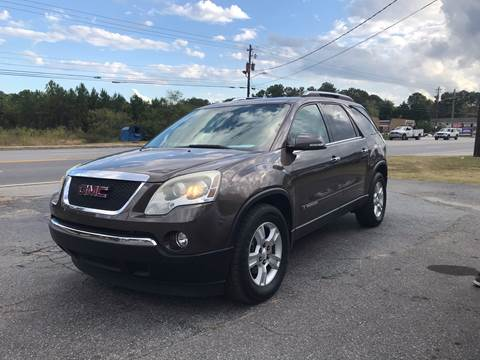 2007 GMC Acadia for sale at CAR STOP INC in Duluth GA