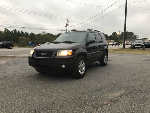 2007 Ford Escape Hybrid for sale at CAR STOP INC in Duluth GA
