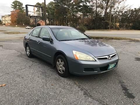 2007 Honda Accord for sale at CAR STOP INC in Duluth GA