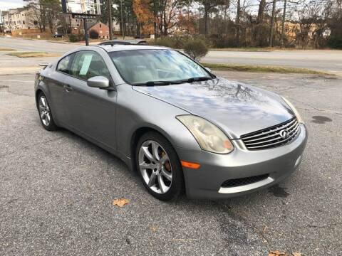 2004 Infiniti G35 for sale at CAR STOP INC in Duluth GA