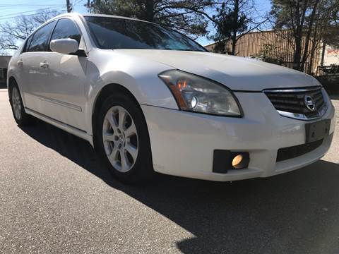 2007 Nissan Maxima for sale at CAR STOP INC in Duluth GA