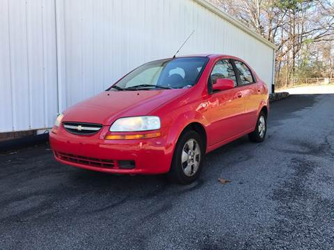 2006 Chevrolet Aveo for sale at CAR STOP INC in Duluth GA