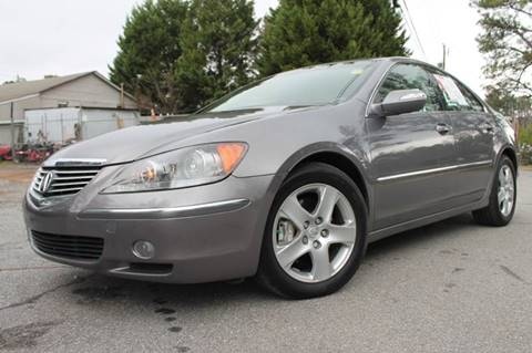 2005 Acura RL for sale at CAR STOP INC in Duluth GA