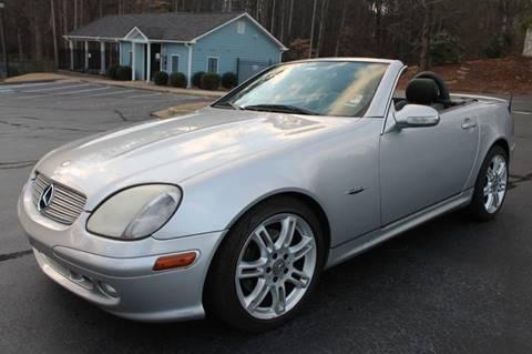 2004 Mercedes-Benz SLK for sale at CAR STOP INC in Duluth GA