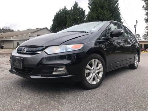 2012 Honda Insight for sale at CAR STOP INC in Duluth GA