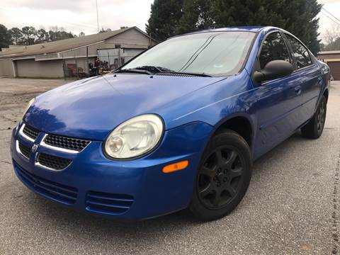 2005 Dodge Neon for sale at CAR STOP INC in Duluth GA