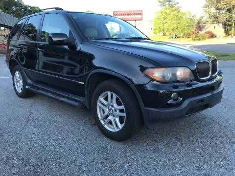 2006 BMW X5 for sale at CAR STOP INC in Duluth GA