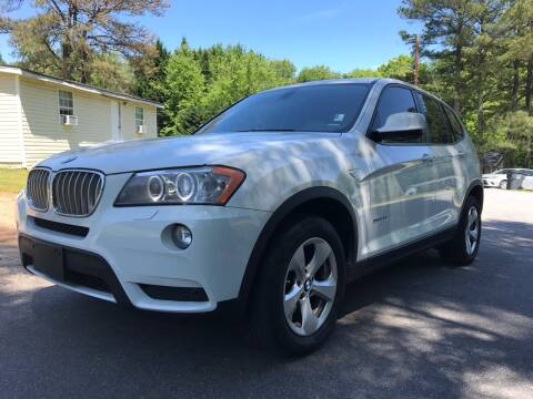2011 BMW X3 for sale at CAR STOP INC in Duluth GA