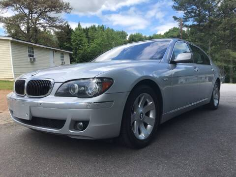 2006 BMW 7 Series for sale at CAR STOP INC in Duluth GA