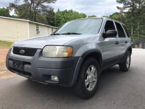 2002 Ford Escape for sale at CAR STOP INC in Duluth GA