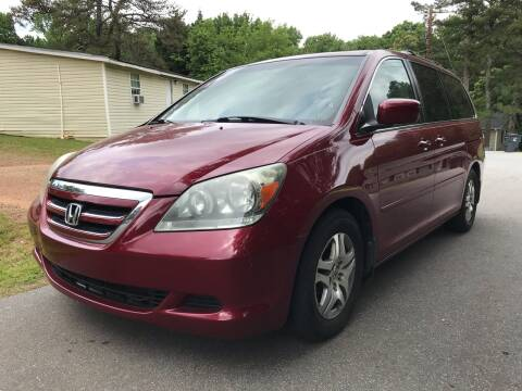 2006 Honda Odyssey for sale at CAR STOP INC in Duluth GA
