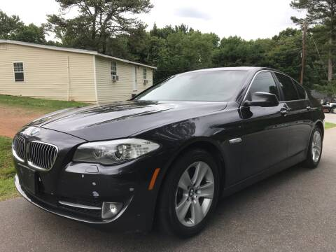 2013 BMW 5 Series for sale at CAR STOP INC in Duluth GA