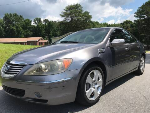 2006 Acura RL for sale at CAR STOP INC in Duluth GA