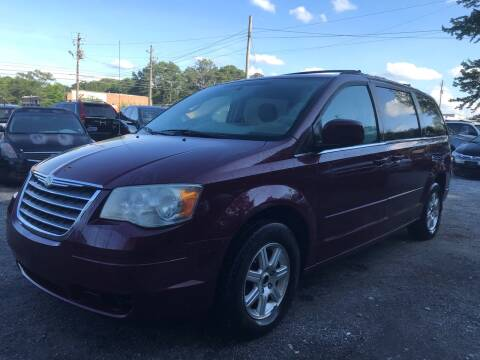 2008 Chrysler Town and Country for sale at CAR STOP INC in Duluth GA