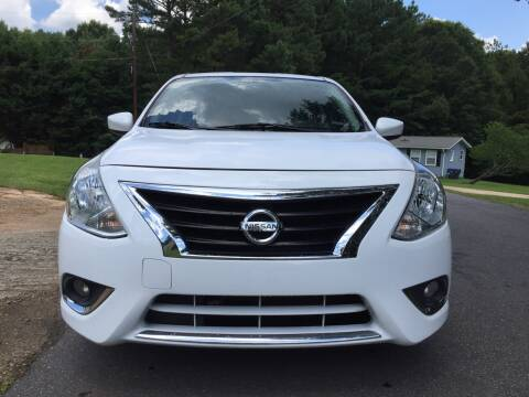 2017 Nissan Versa for sale at CAR STOP INC in Duluth GA