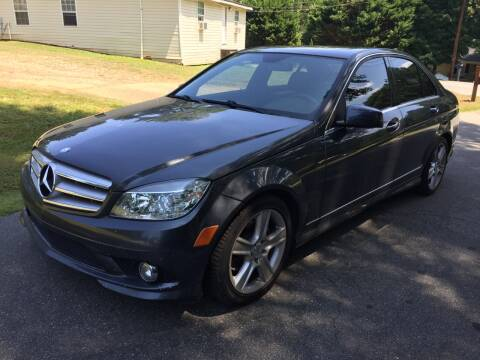 2010 Mercedes-Benz C-Class for sale at CAR STOP INC in Duluth GA