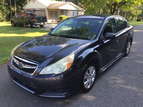 2011 Subaru Legacy for sale at CAR STOP INC in Duluth GA