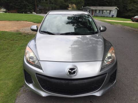 2013 Mazda MAZDA3 for sale at CAR STOP INC in Duluth GA