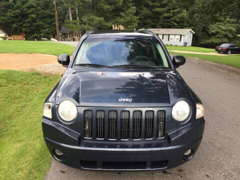 2008 Jeep Compass for sale at CAR STOP INC in Duluth GA