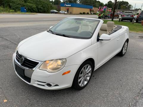 2009 Volkswagen Eos for sale at CAR STOP INC in Duluth GA