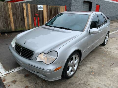 2004 Mercedes-Benz C-Class for sale at CAR STOP INC in Duluth GA