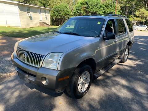 2003 Mercury Mountaineer for sale at CAR STOP INC in Duluth GA