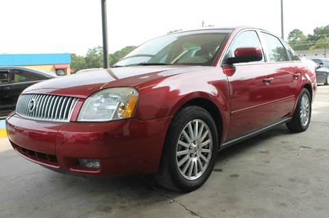 2006 Mercury Montego for sale at CAR STOP INC in Duluth GA