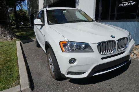 2012 BMW X3 for sale at Higear Motors LLC in Fremont CA