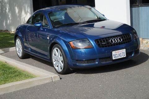 2003 Audi TT for sale at Higear Motors LLC in Fremont CA