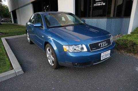 2003 Audi A4 for sale at Higear Motors LLC in Fremont CA