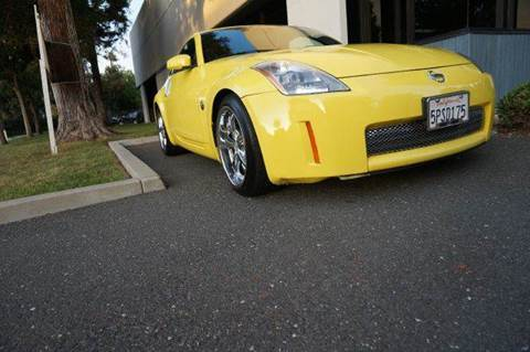 2004 Nissan 350Z for sale at Higear Motors LLC in Fremont CA