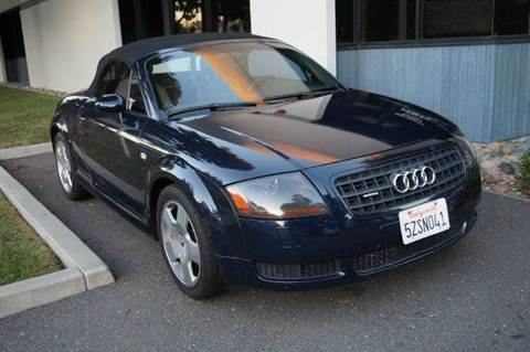 2004 Audi TT for sale at Higear Motors LLC in Fremont CA