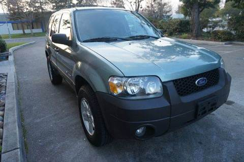 2006 Ford Escape Hybrid for sale at Higear Motors LLC in Fremont CA