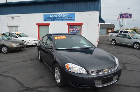 2012 Chevrolet Impala for sale in Twin Falls, ID
