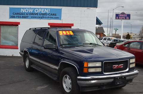 1999 GMC Suburban for sale in Twin Falls, ID