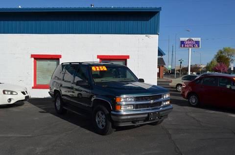 1999 Chevrolet Tahoe for sale in Twin Falls, ID