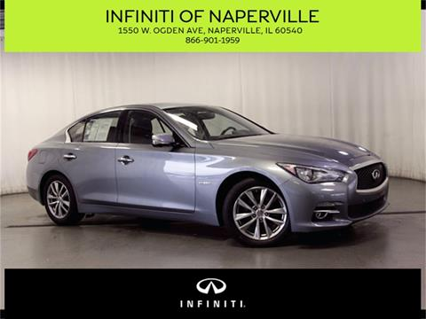 2014 Infiniti Q50 Hybrid for sale in Naperville, IL