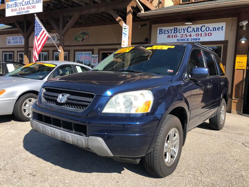 2004 Honda Pilot 4dr EX L 4WD SUV W/Leather   Independence MO