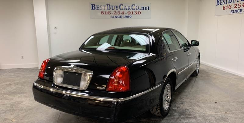 2002 Lincoln Town Car Cartier 4dr Sedan In Independence Mo Best