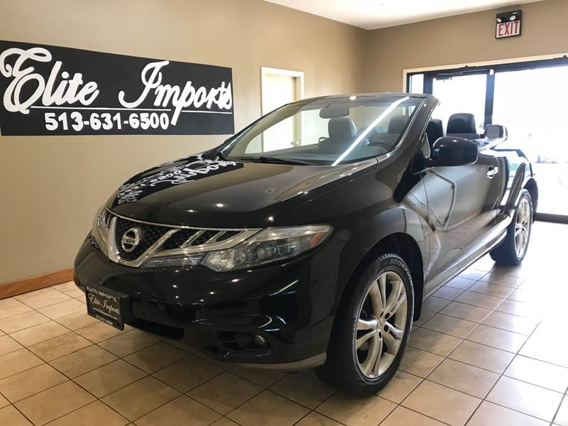 2011 Nissan Murano CrossCabriolet For Sale At ELITE IMPORTS LLC In West  Chester OH