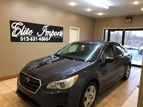 2015 Subaru Legacy for sale in West Chester, OH
