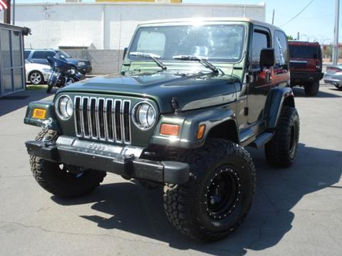 1998 Jeep Wrangler for sale in Phoenix, AZ