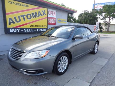 2012 Chrysler 200 Convertible for sale in Pinellas Park, FL