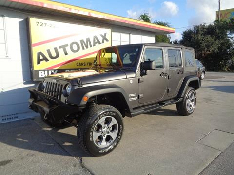 2017 Jeep Wrangler Unlimited for sale in Pinellas Park, FL