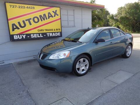 2009 Pontiac G6 for sale at Automax Tampa Bay in Pinellas Park FL