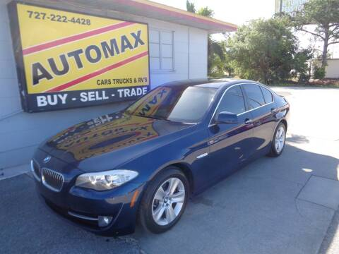 2012 BMW 5 Series 528i for sale at Automax Tampa Bay in Pinellas Park FL