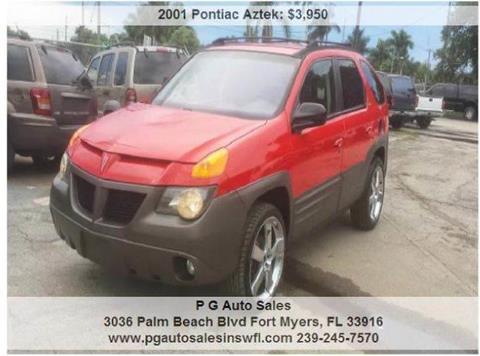 2001 Pontiac Aztek for sale in Fort Myers, FL