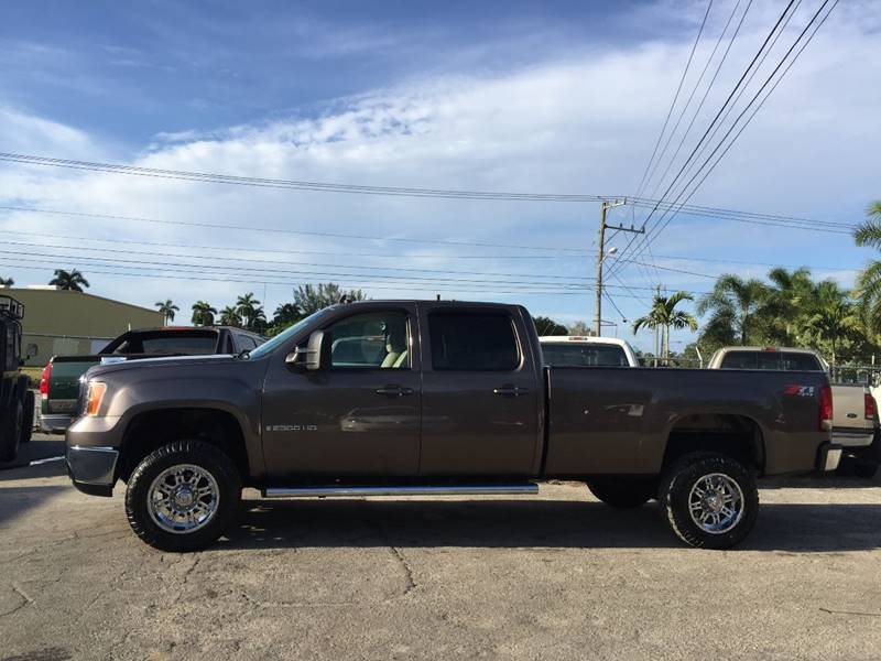 2008 gmc sierra 2500hd 4wd sle1 4dr crew cab lb in fort myers fl contact publicscrutiny Choice Image