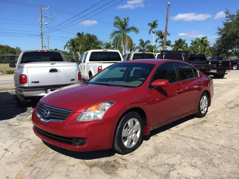 2007 Nissan Altima 2.5 4dr Sedan   Fort Myers FL