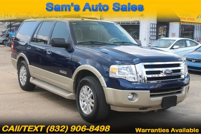 Ford Expedition For Sale At Sams Auto Sales In Houston Tx